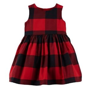 Carter's Buffalo Plaid dress